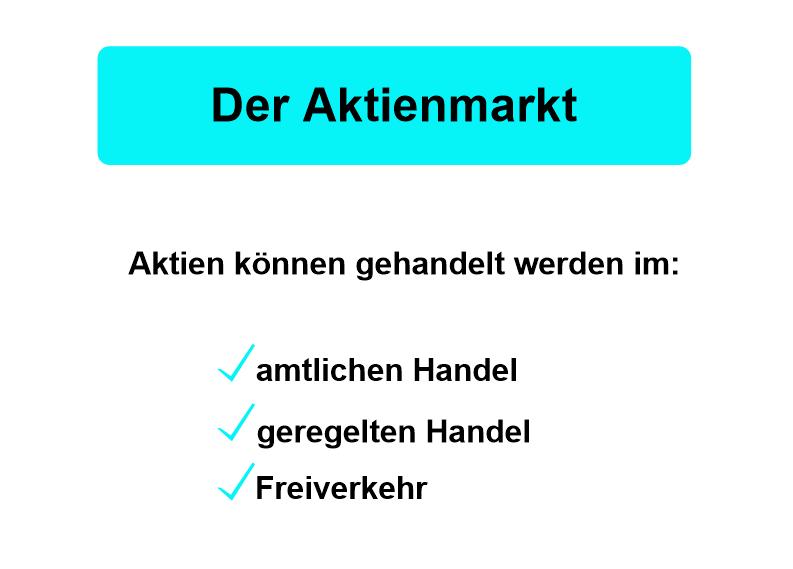Aktienmarkt 1
